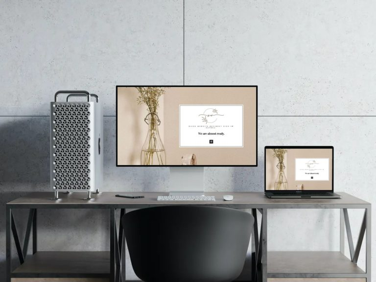 Sandra W. Salon Boutique Mockup